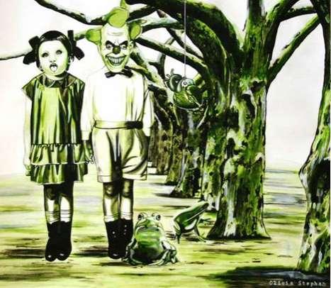 Surreal Scarytale Illustrations