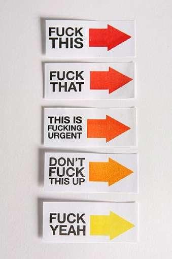 Sassy Swearing Stickies