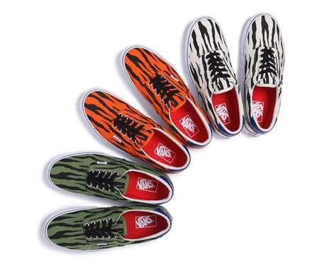 Daring Zebra Sneakers