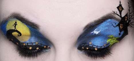Disney-Inspired Eye Artwork