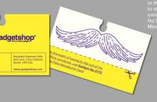Lavender scented business cards scented business cards self updating business cards witty work supplies colourmoves