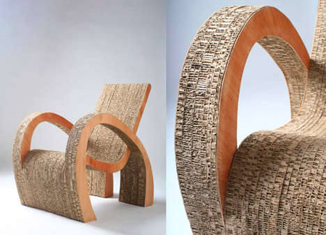 Curvy Cardboard Furniture
