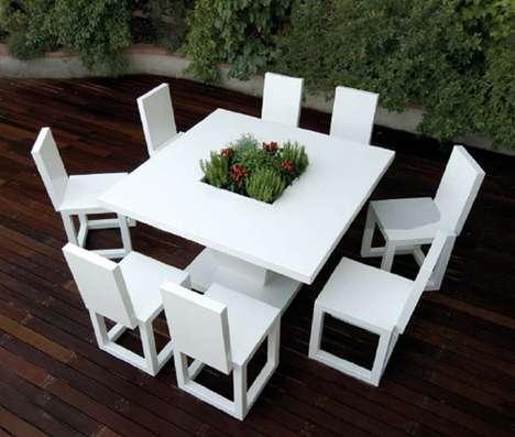 Flower-Filled Furniture