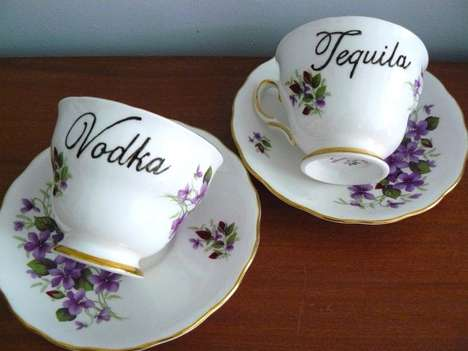 Tipsy Tea Cups