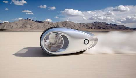 Emission-Free Solar Cars - The Nau Ecco Design is a Zero-Emission Example of Mobile Living