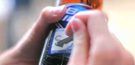Etched Beer Bottles