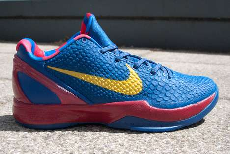 The Nike Zoom Kobe VI Barcelona Shoe is Colorful and Comfortable