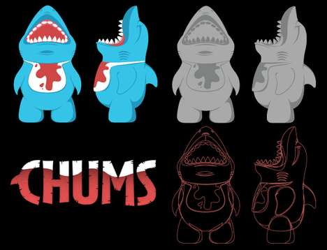 The Chums Vinyl Toy Prototype is a Tribute to Deep Sea Creatures