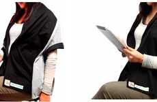 Radiation Protective Outfits - The SmartSense Shawl is for Those with Electronic Phobias