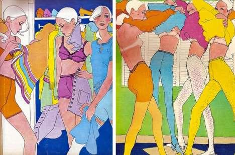 Famous Fashion Illustrations