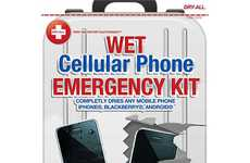 Electronic First-Aid Kits - The Dry-All Cellular Phone Emergency Kit Saves the Day