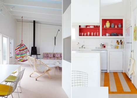 Colorful Childlike Interiors
