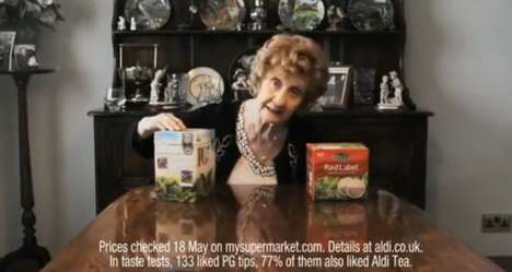 Liquor-Loving Grandma Ads