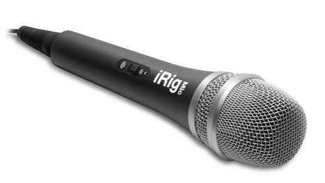 The iRig Mic is a Portable High-Quality Sound Recorder for Apple Products