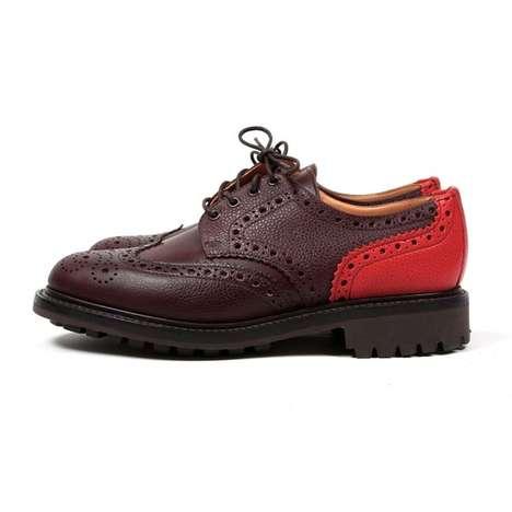 Rustic Regal Footwear