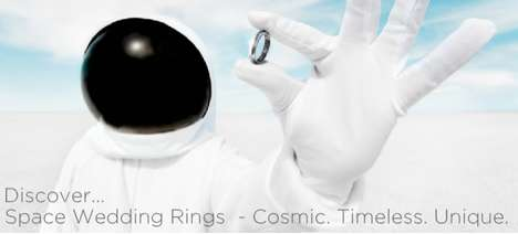SpaceWed Wedding Rings Will Make Your Ceremony Out of this World