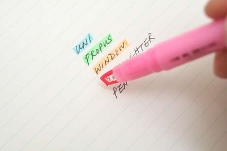 Rainbow Writing Tools