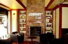 Upscale Sandwich Eateries - The Subway Cafe Revamps the Chain with a Classy & Sophisticated Look