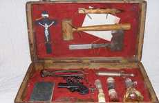 Supernatural Defense Equipment - The 1800's Vampire Hunting Kit Shows Blood-Suckers Who's Boss