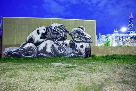 Creepy Critter Graffiti