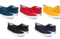 High-Top Hipster Kicks - The Supreme Vans Chukka Summer Shoe Collection is Color-Charged
