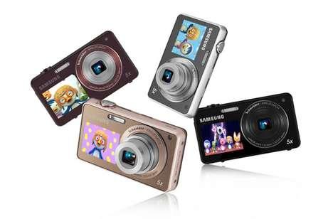 Cartoon-Broadcasting Cameras