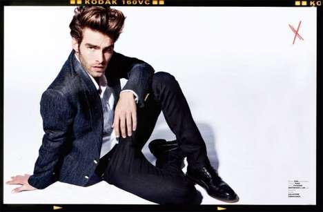 Charismatic Cool-Guy Fashion