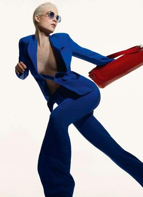 Color-Blocking Fashion Campaigns