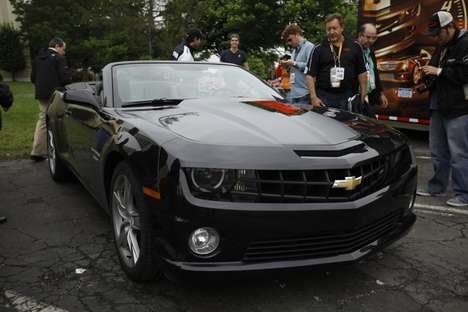 Revamped Convertible Muscle Cars