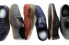 Sophisticated Suede Skate Shoes