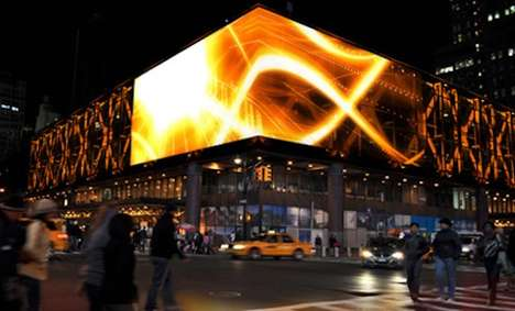 Weaving Luminous Ads