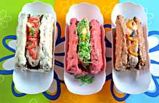 Street Meat Sweets - Hot Dog Cakes Combine Dessert and Alcoholic Beverage to Satisfy You