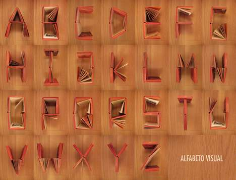 Literary Alphabet Art