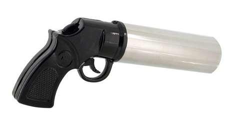 Gun-Shaped Flame Quenchers