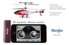 Crowdfunded Controller Apps - iRemoco App is a Remarkable Design for a Helicopter Remote