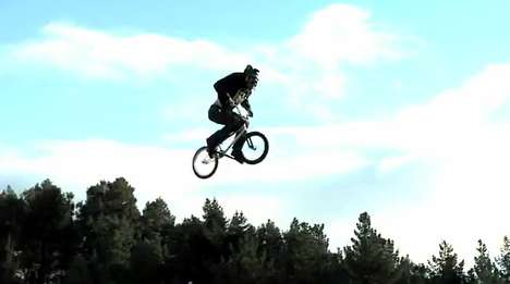 Somersaulting BMX Riders