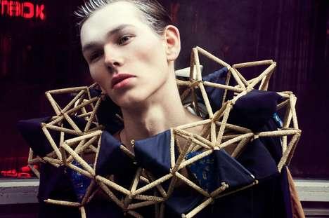 Geometric Men's Collars