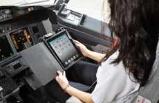 Tablet Airplane Handbooks - Alaska Airlines is Adopting iPad Aircraft Manuals for its Pilots
