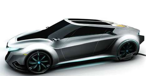Coffee-Inspired Autos - The Saab/Nespresso Concept Car Combines Two Famous Brands