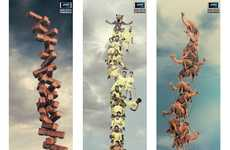 Vertical Panoramic Camera-Phones - The Nokia N8 2011 Ads Offer a Great Photographic View