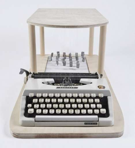 The Paul Bailey Hacked Typewriter Redefines Traditional Technology