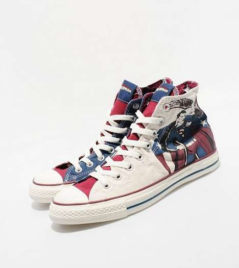 Caped Hero Sneakers