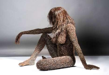 Wiry Nude Women