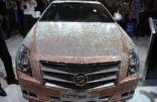 Crystal-Covered Caddies - The Swarovski-Covered Cadillac CTS Coupe is a New Level of Luxury