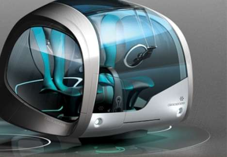 Automotive Capsule Abodes