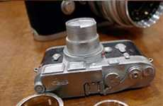 Shutterbug Marriage Bands - The Leica Wedding Rings are Perfect for Romantic Photogs