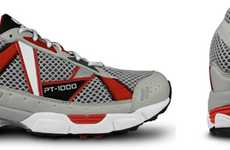 Long-Lasting Runners - The PT-1000 Running Shoe by UK Gear is Guaranteed to Last for 1,000 Miles.