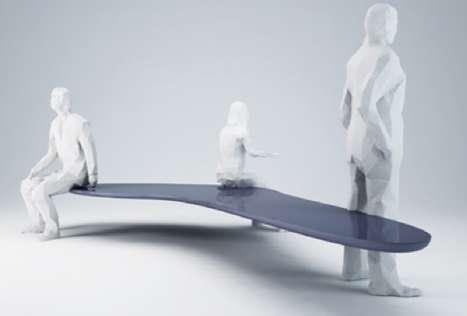 Levitating Sculptural Seats