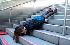 Urban Faceplant Photography - These Jinyu and Karren Planking Pictures are Perilously Pleasing