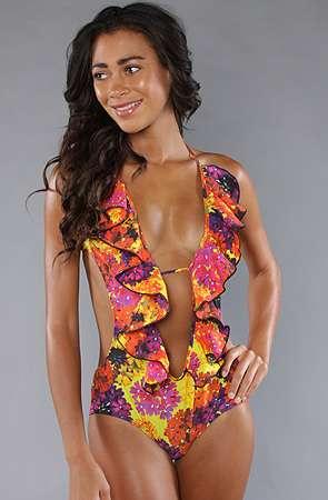 Vivaciously Vibrant Swimwear